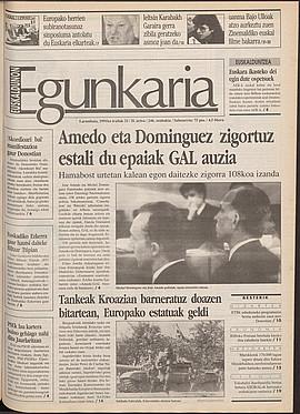 Amedo eta Domínguez zigortuz estali du epaiak GAL auzia