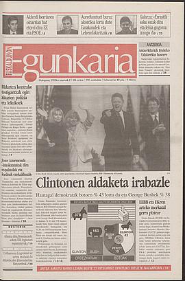 Clintonen aldaketa irabazle