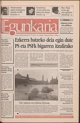 1993ko martxoak 23, 01. orrialdea