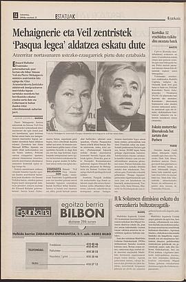 1993ko ekainak 22, 14. orrialdea