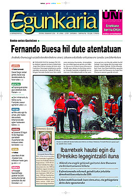 Fernando Buesa hil dute atentatuan