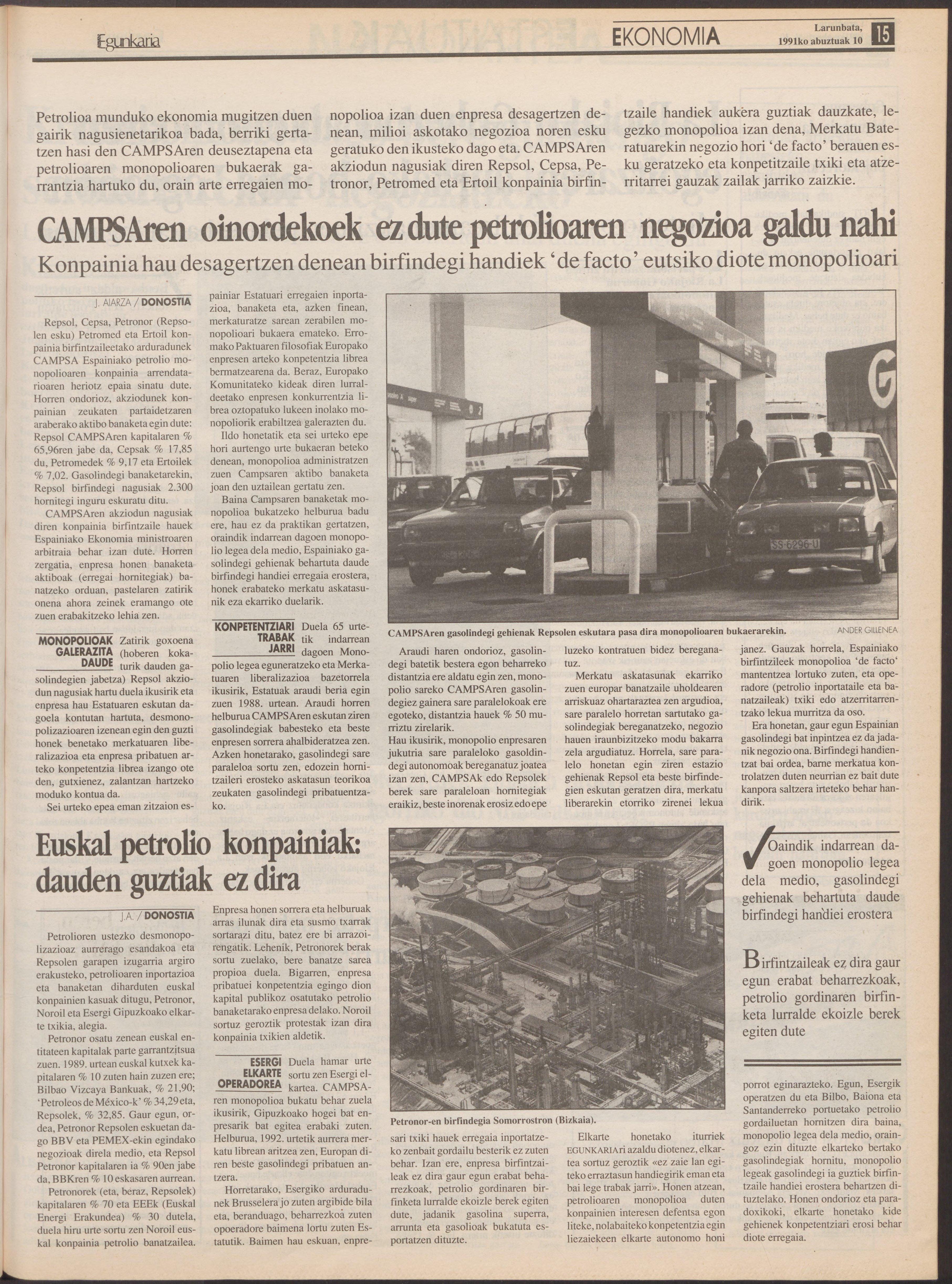 1991ko abuztuak 10, 15. orrialdea