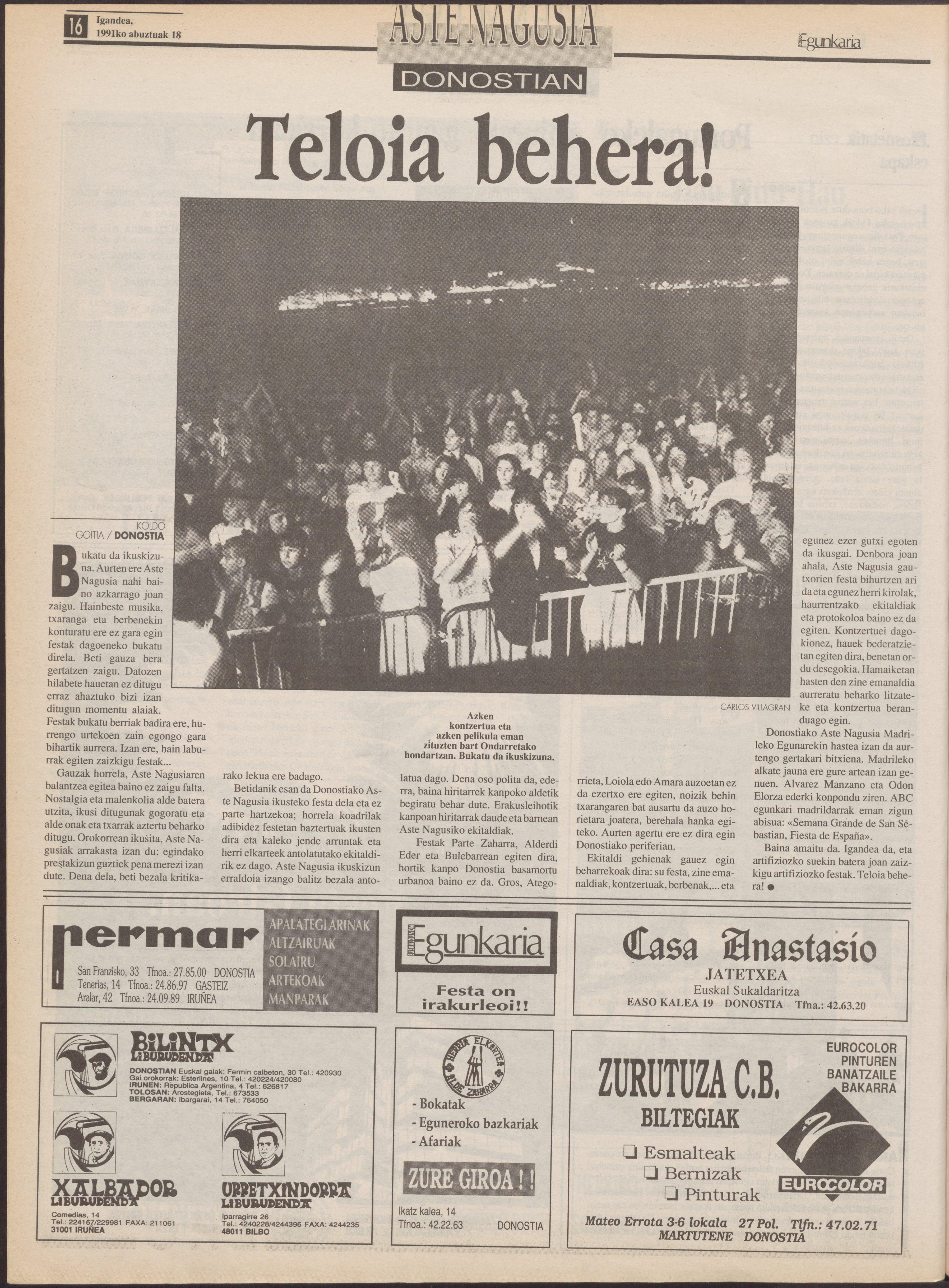 1991ko abuztuak 18, 16. orrialdea