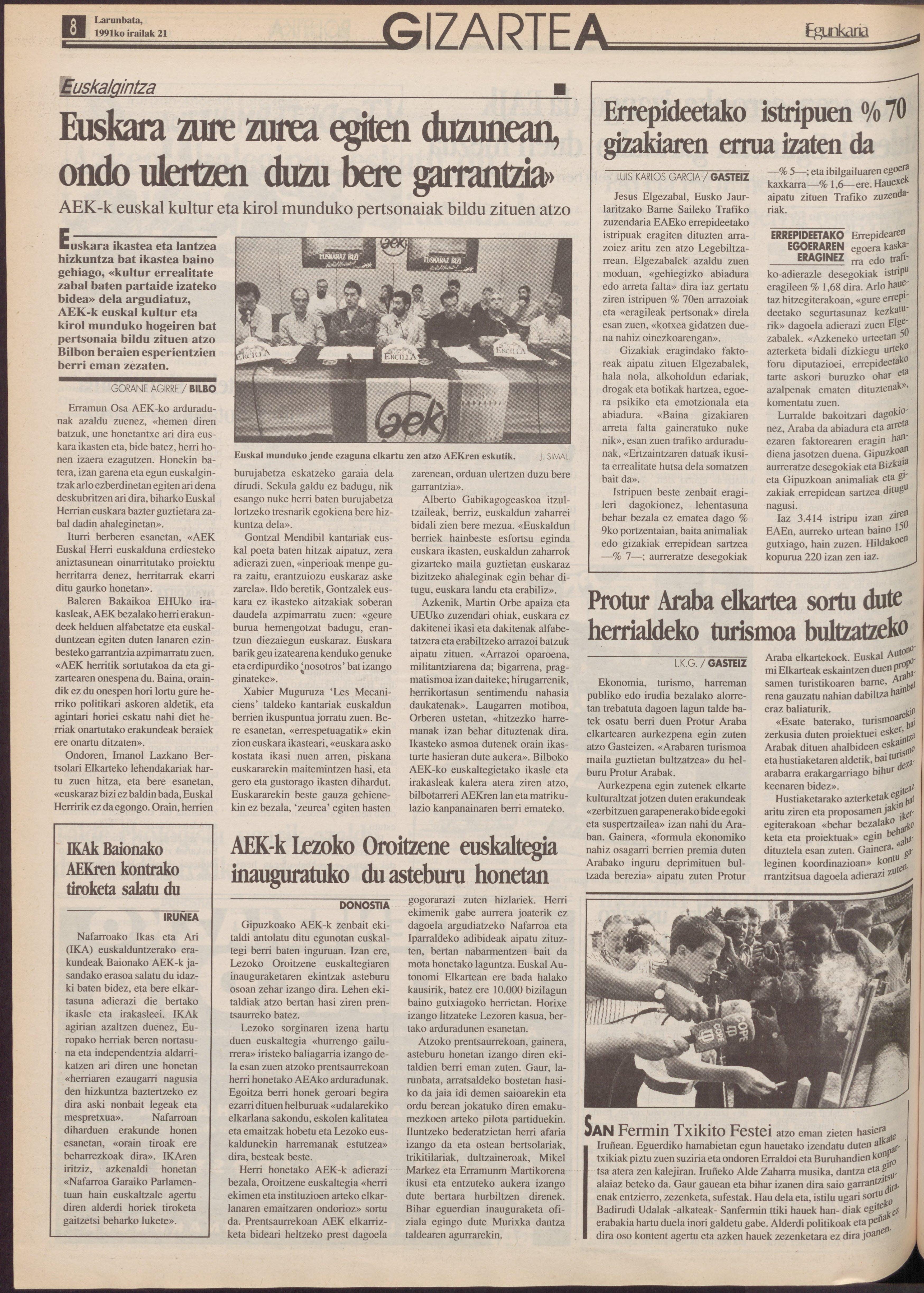 1991ko irailak 21, 08. orrialdea