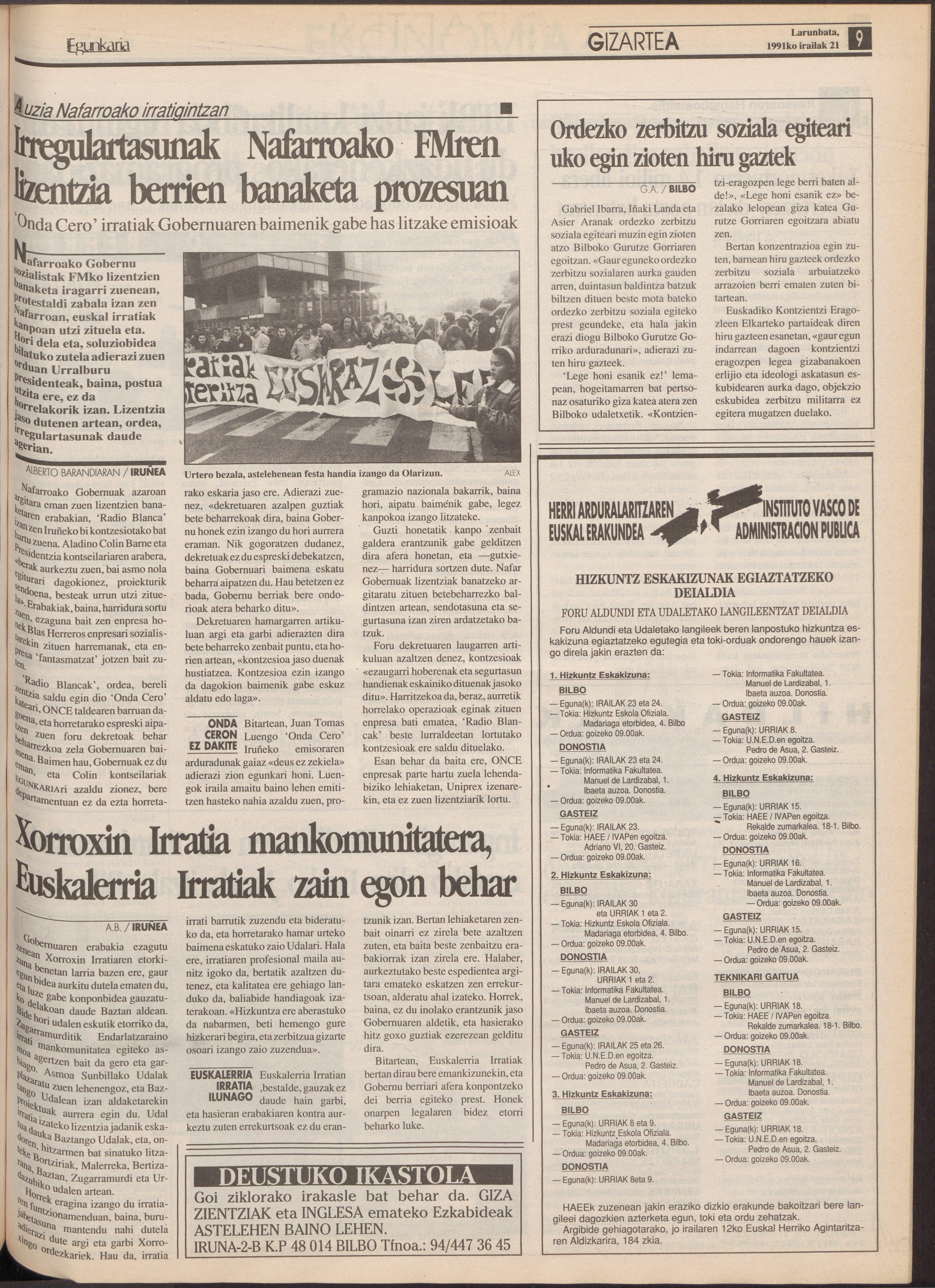 1991ko irailak 21, 09. orrialdea