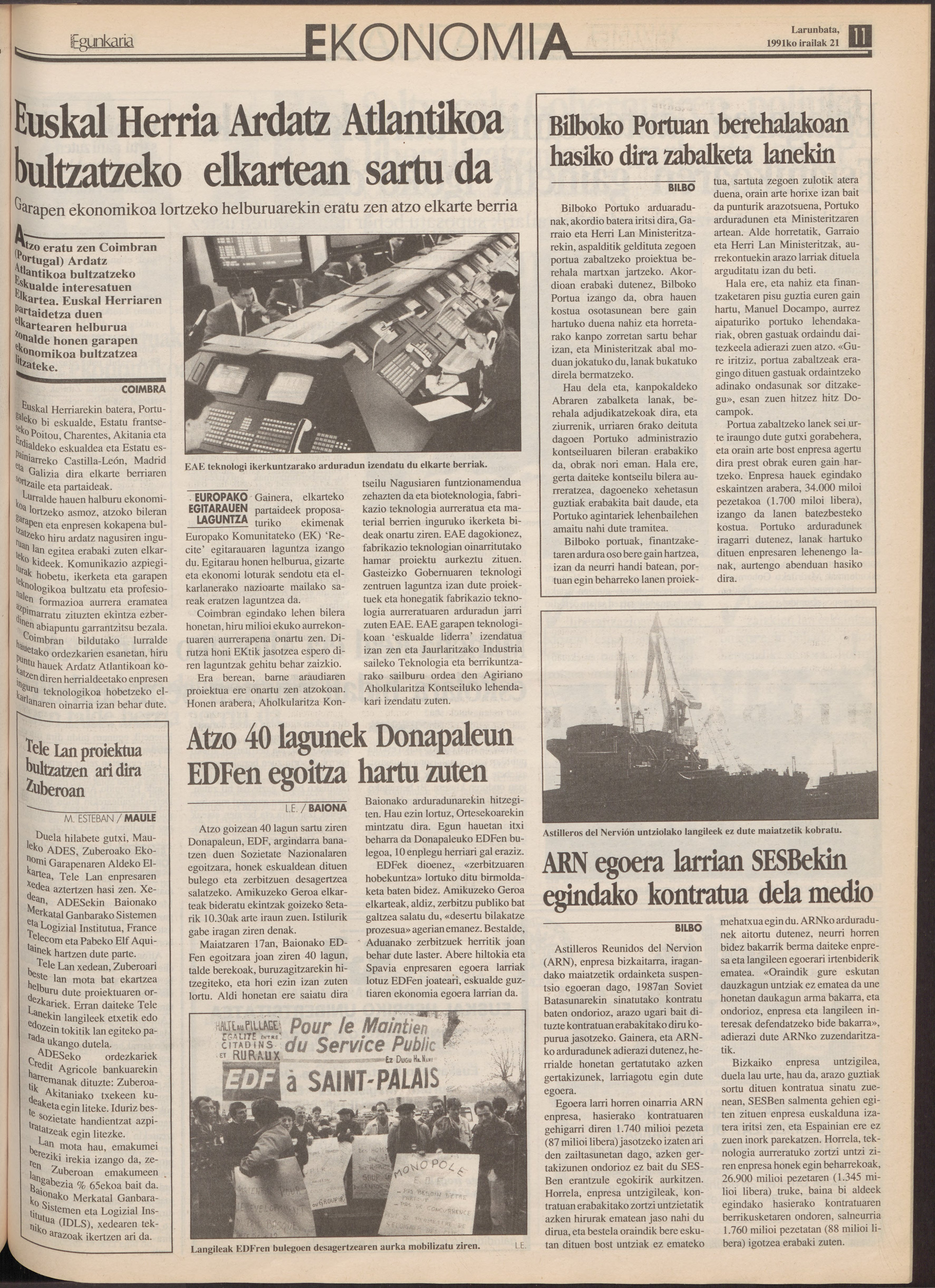 1991ko irailak 21, 11. orrialdea