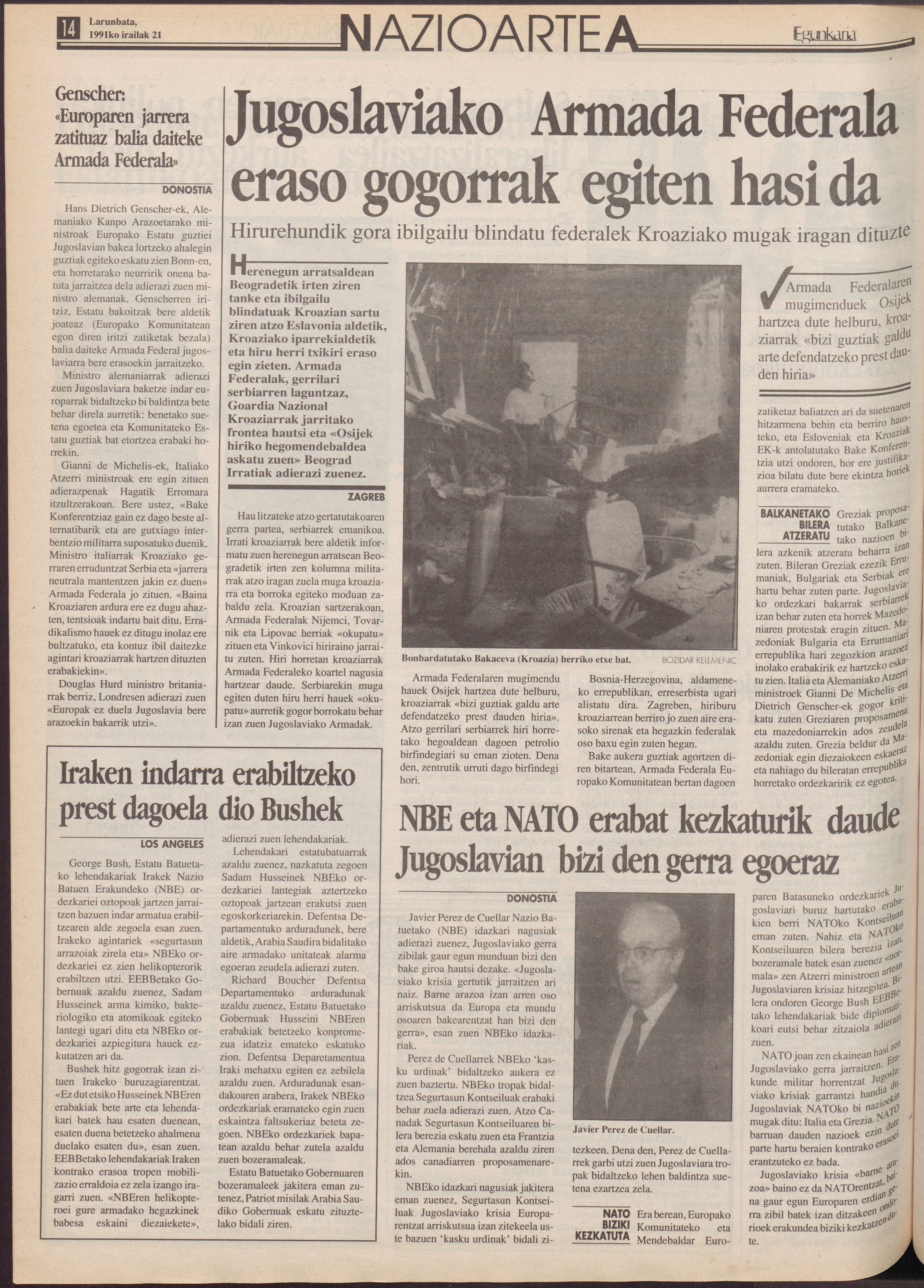 1991ko irailak 21, 14. orrialdea