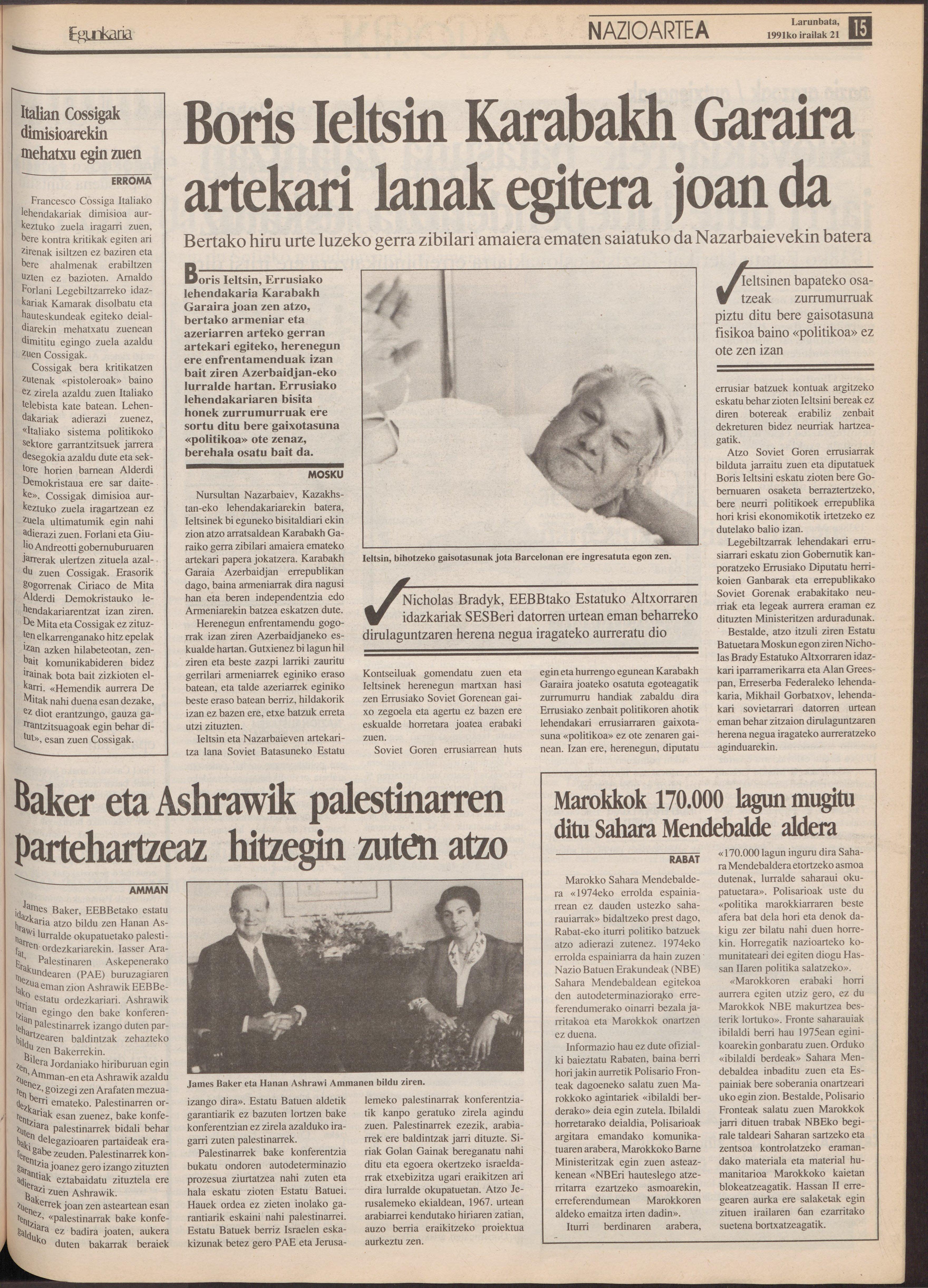 1991ko irailak 21, 15. orrialdea