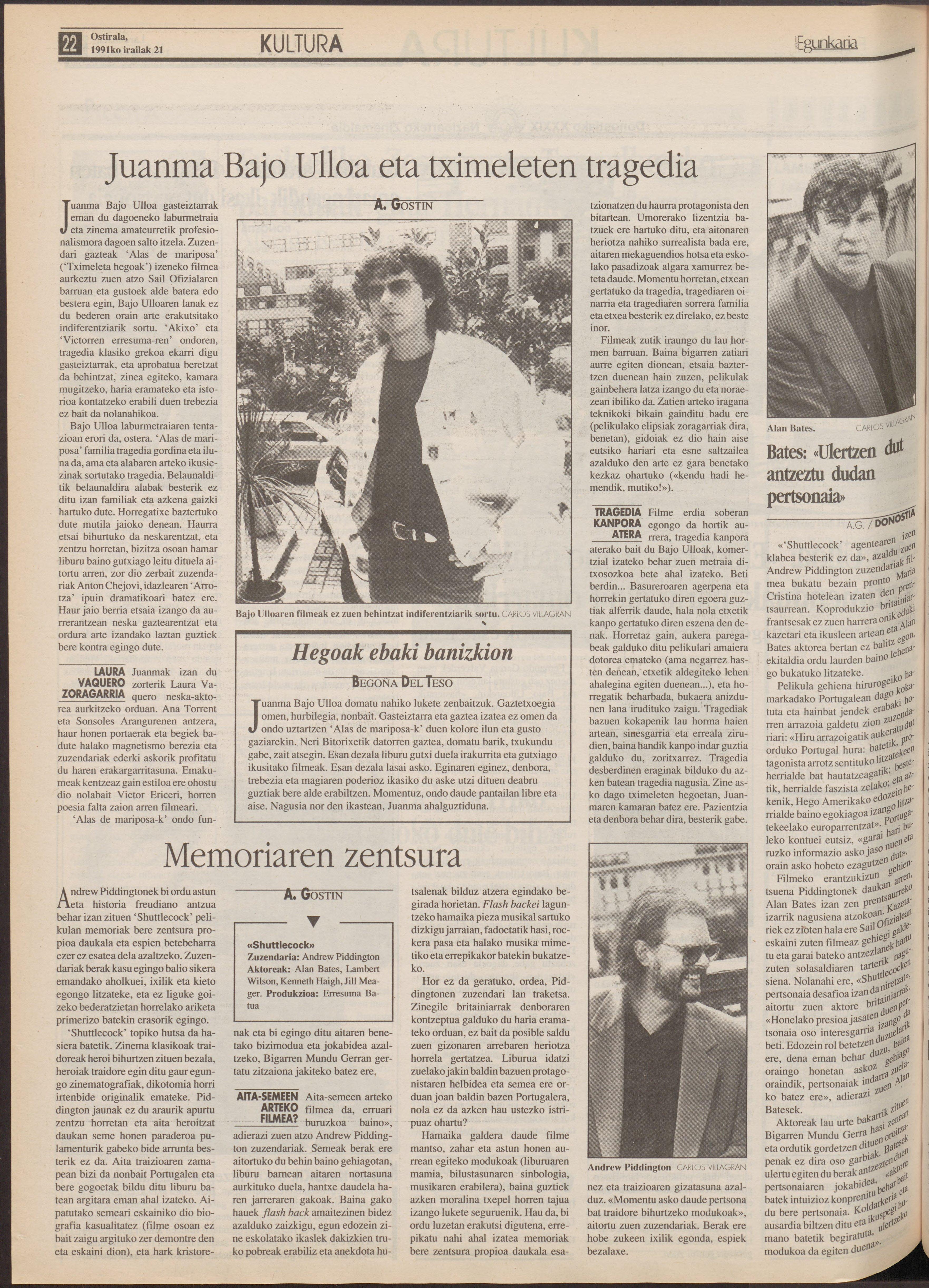 1991ko irailak 21, 22. orrialdea