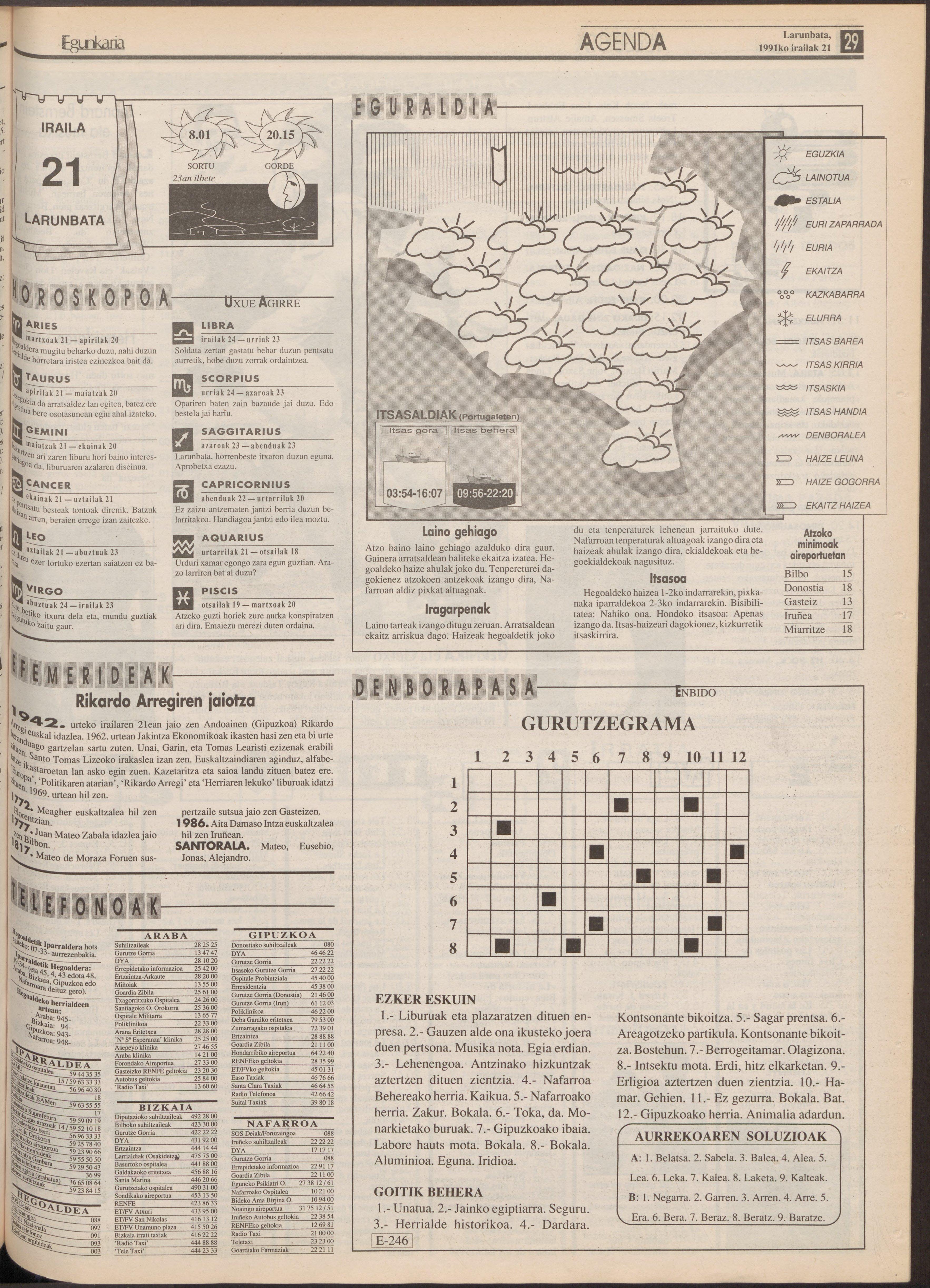 1991ko irailak 21, 29. orrialdea