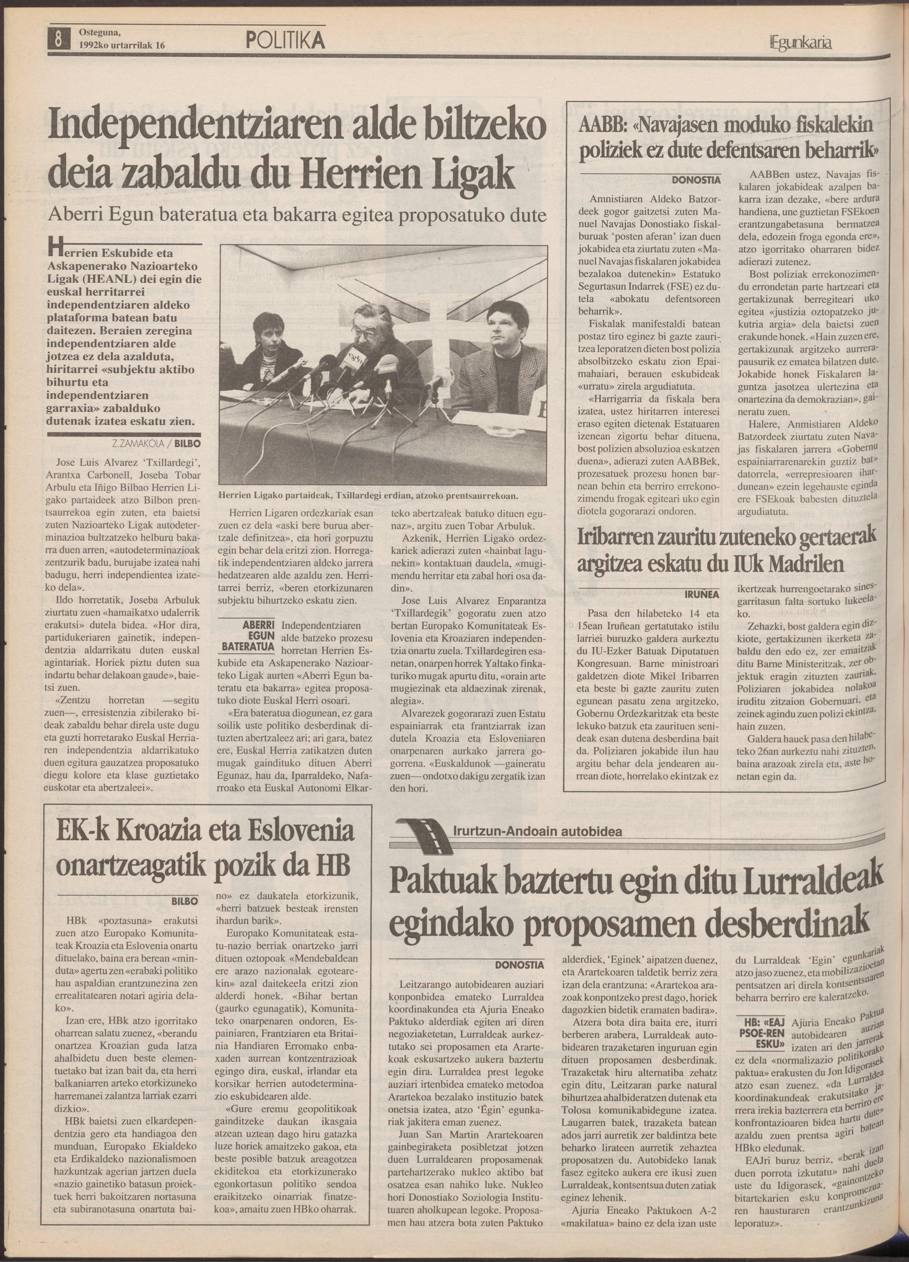 1992ko urtarrilak 16, 08. orrialdea