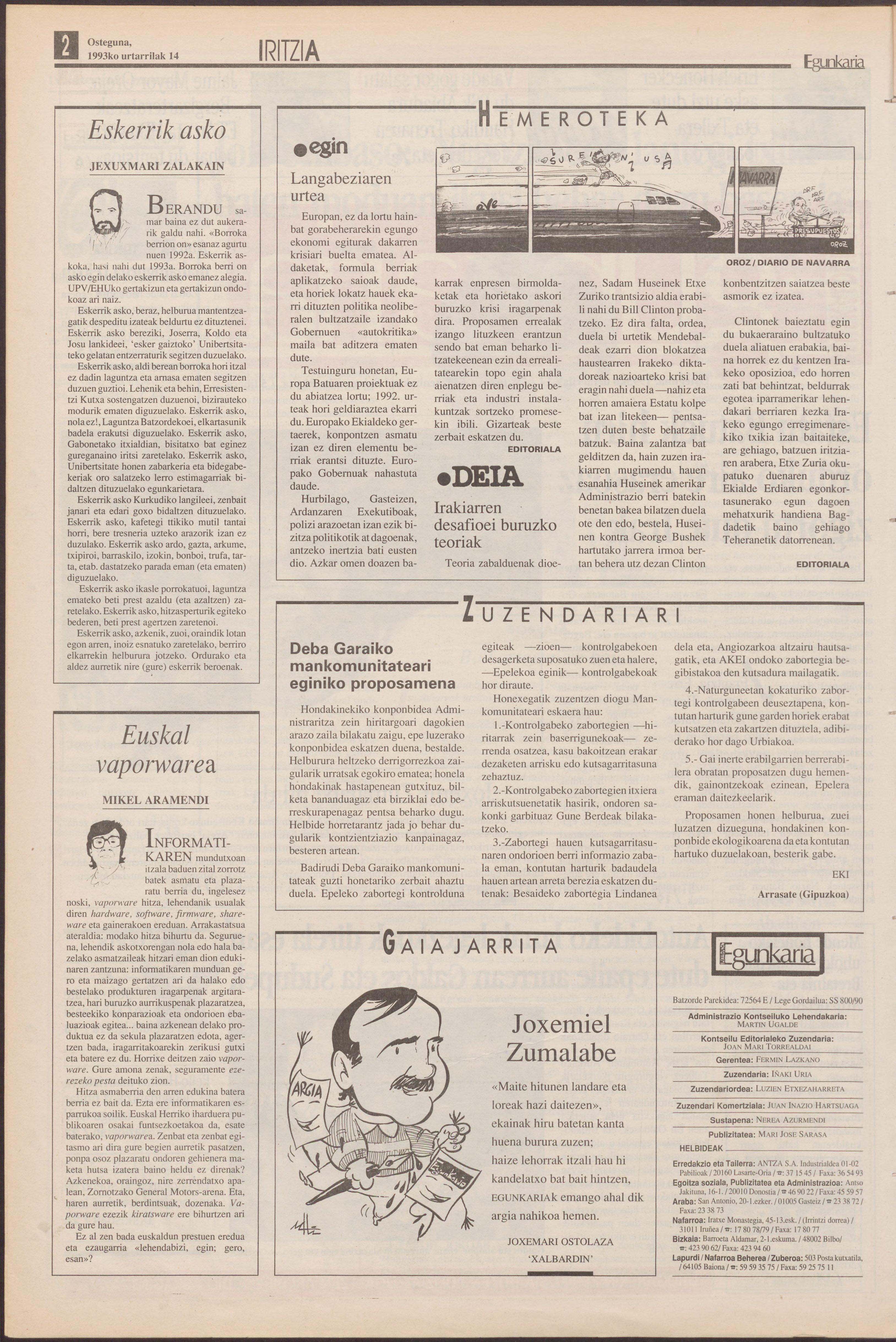 1993ko urtarrilak 14, 02. orrialdea