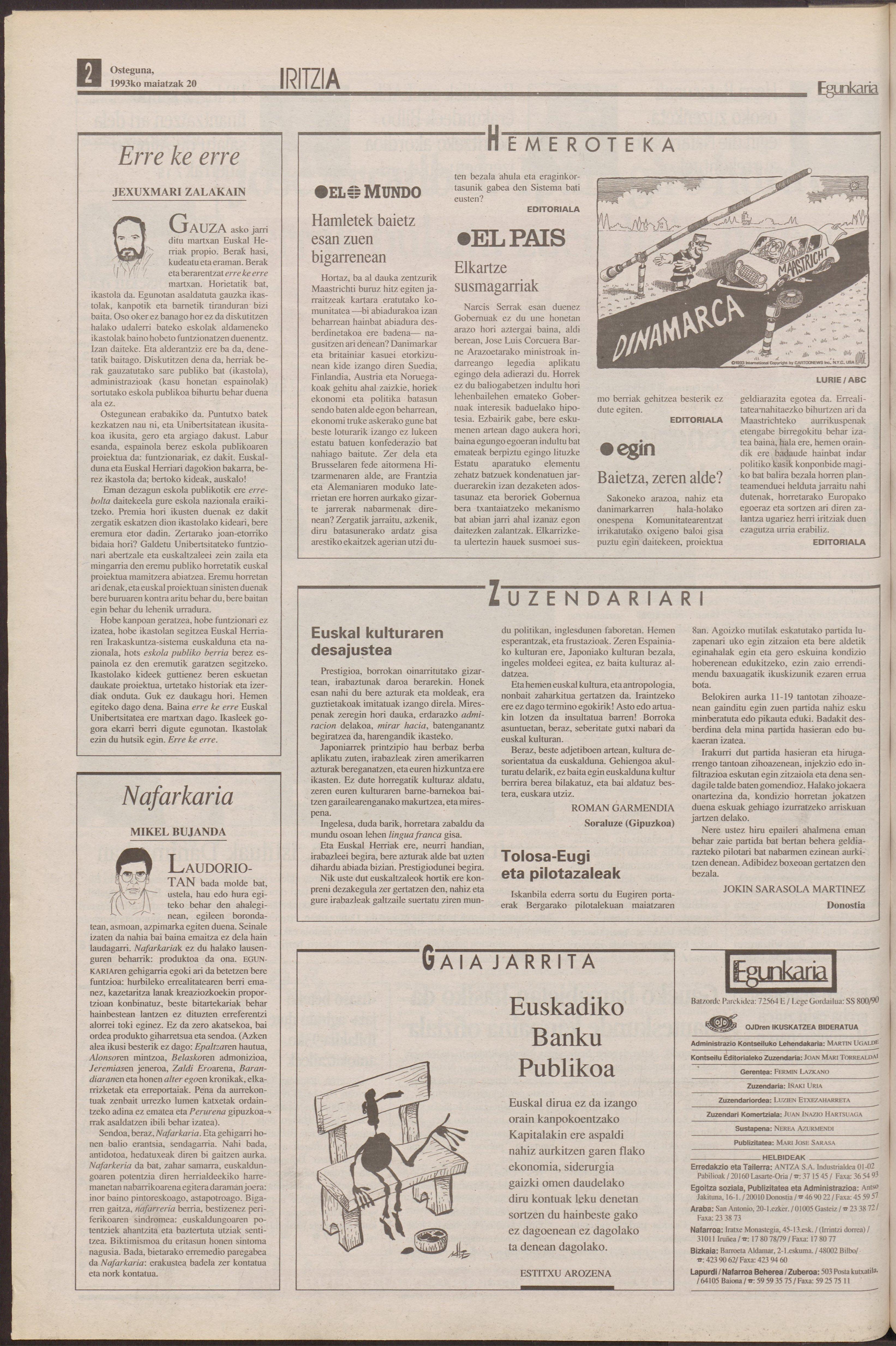 1993ko maiatzak 20, 02. orrialdea