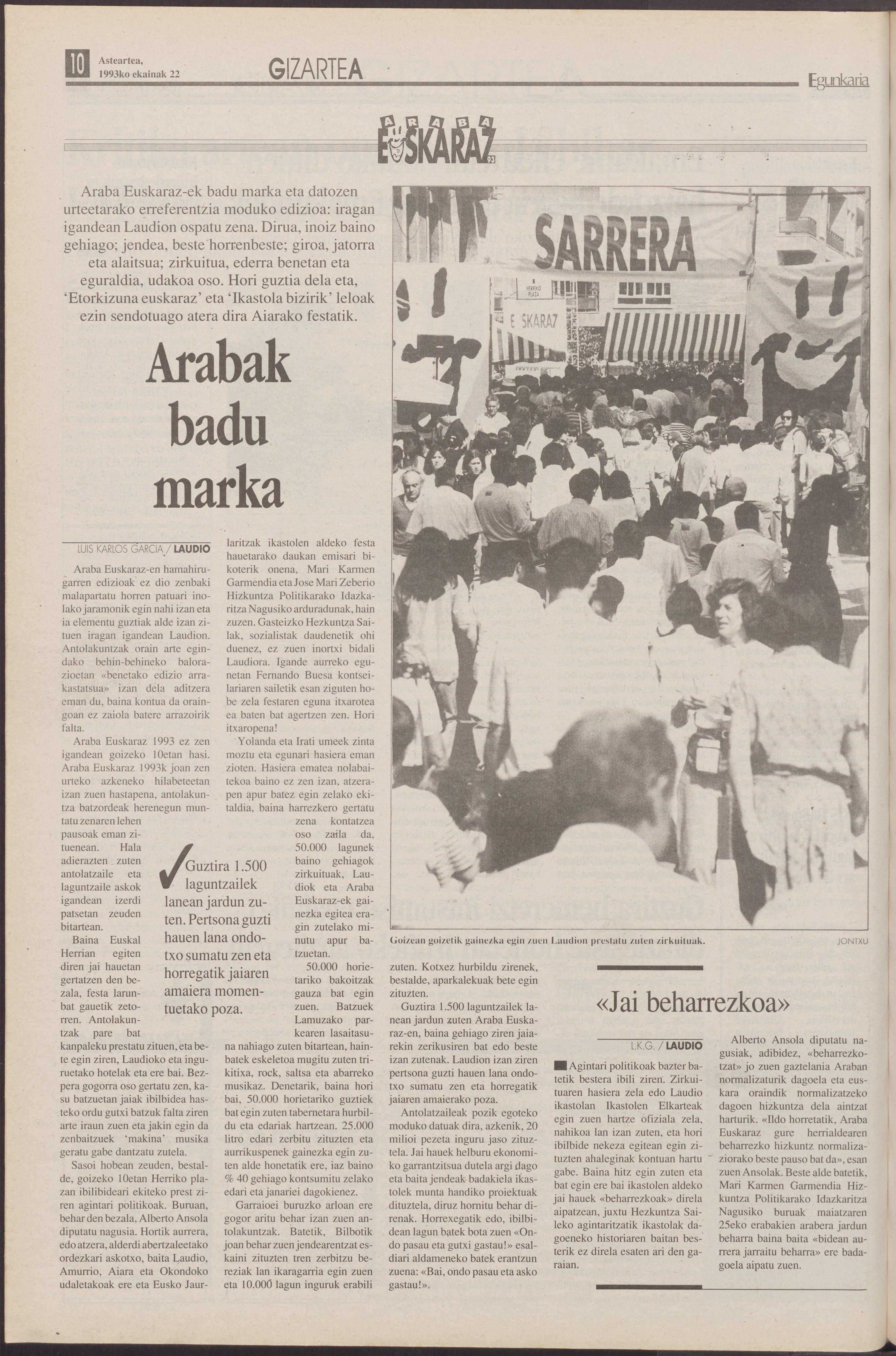 1993ko ekainak 22, 10. orrialdea