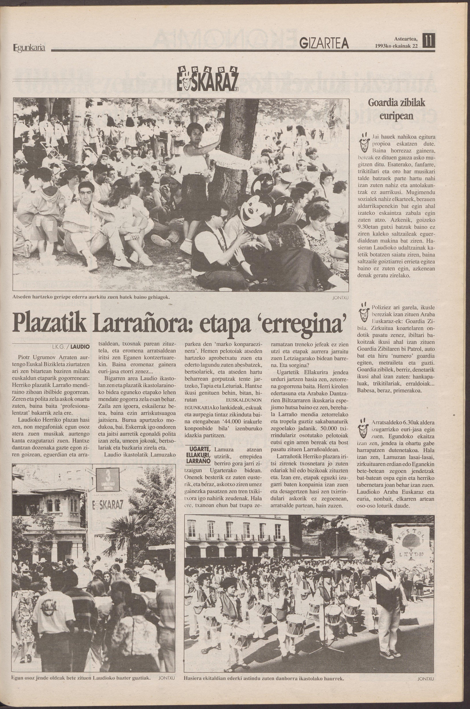 1993ko ekainak 22, 11. orrialdea