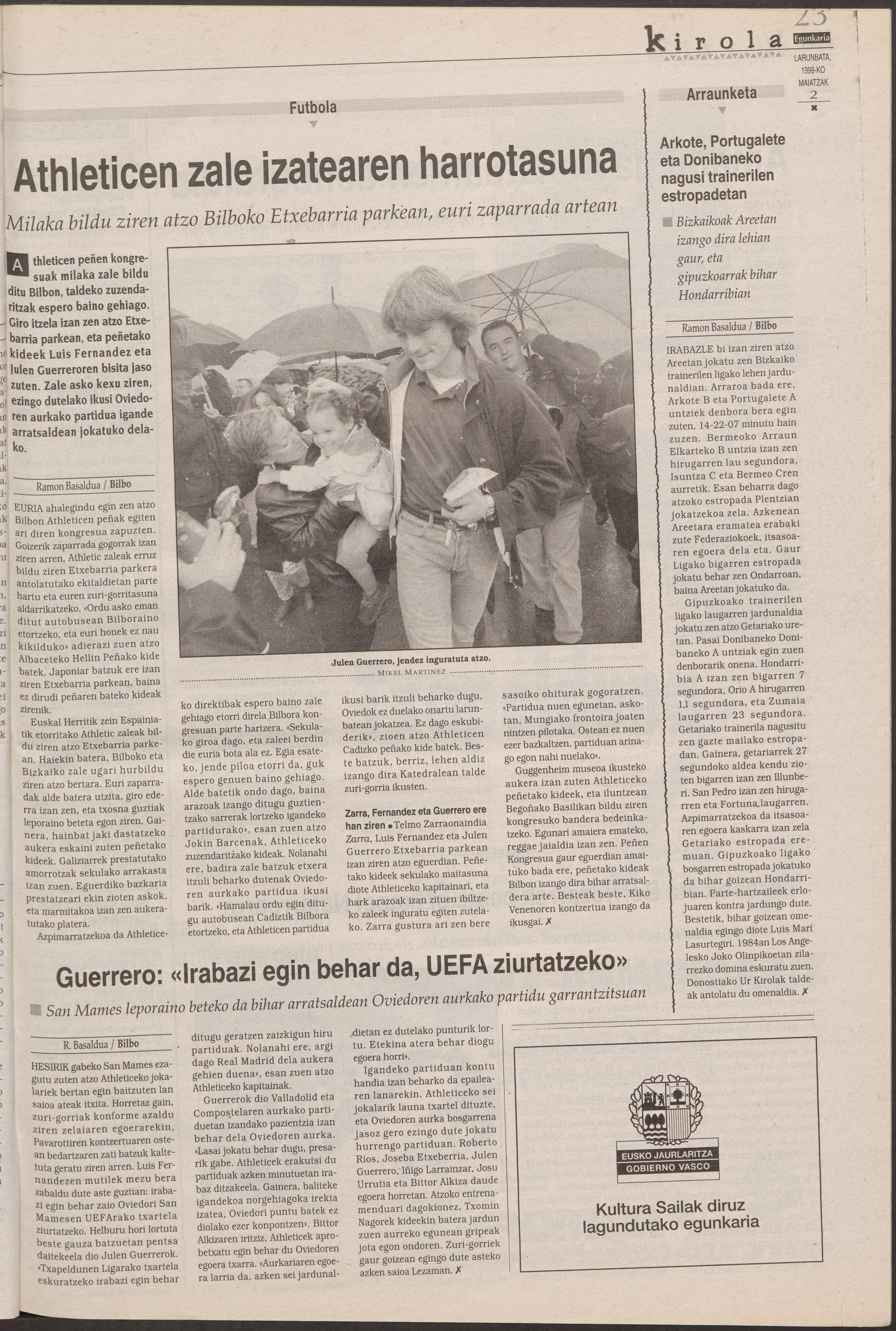 1998ko maiatzak 2, 23. orrialdea
