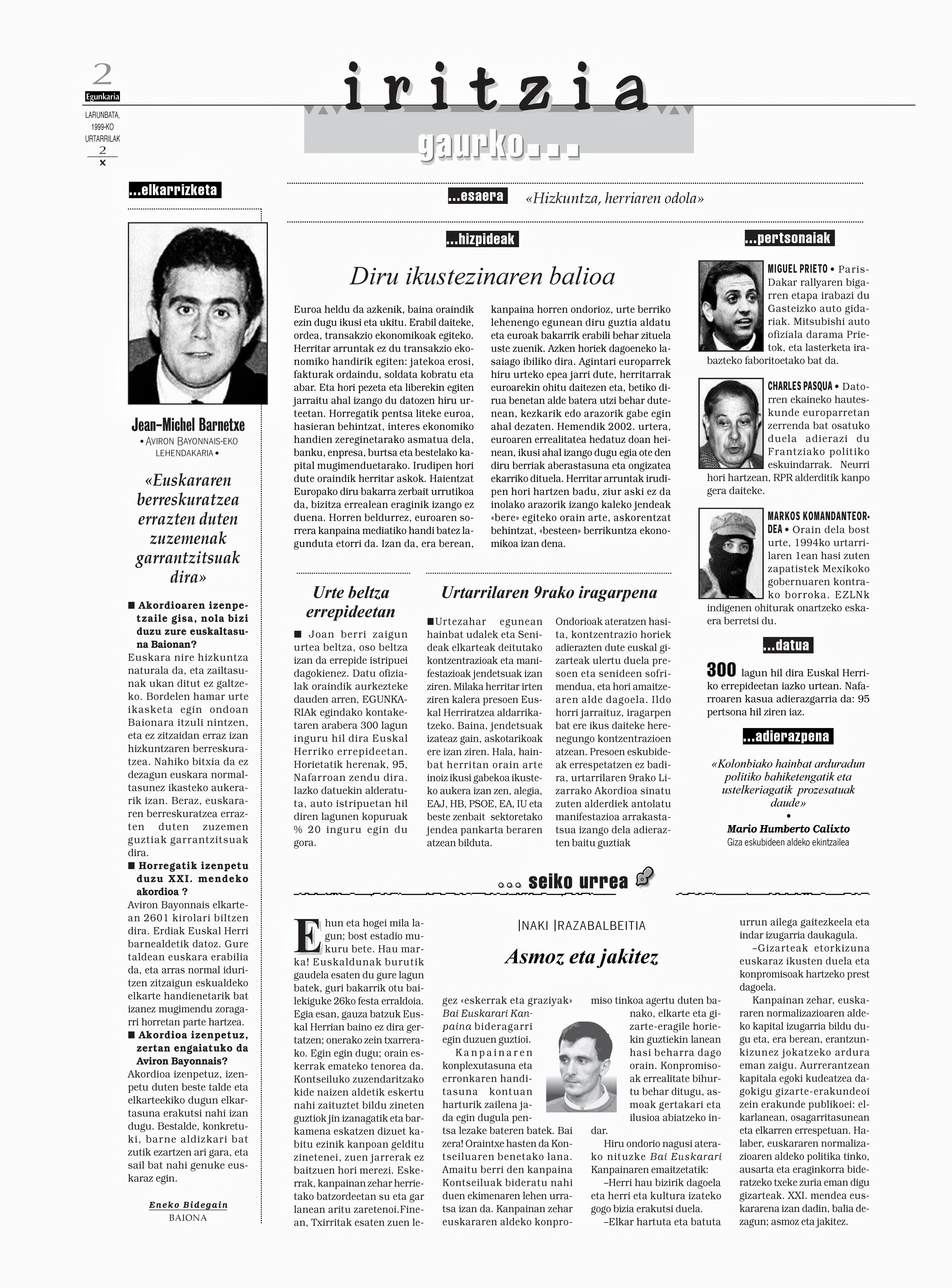 1999ko urtarrilak 2, 02. orrialdea